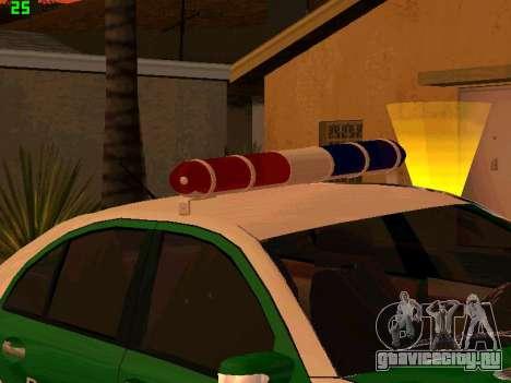 Mercedes-Benz  E500 Polizei для GTA San Andreas вид сзади