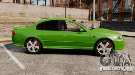 Ford Falcon XR8 для GTA 4 вид слева