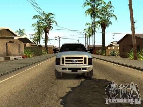 Ford Excursion для GTA San Andreas вид сзади