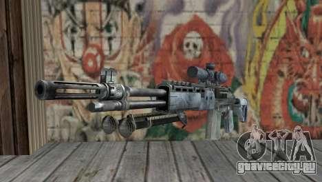 M14 EBR Blue Tiger для GTA San Andreas