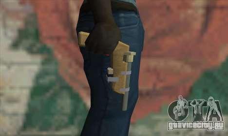 Самодельный пистолет для GTA San Andreas третий скриншот
