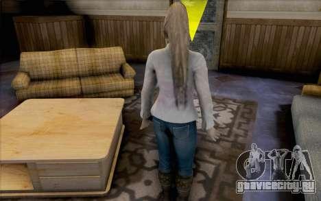 Sarah из Dead or Alive 5 для GTA San Andreas четвёртый скриншот