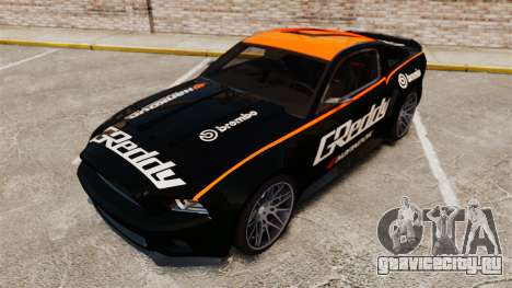 Ford Mustang GT 2013 NFS Edition для GTA 4 салон