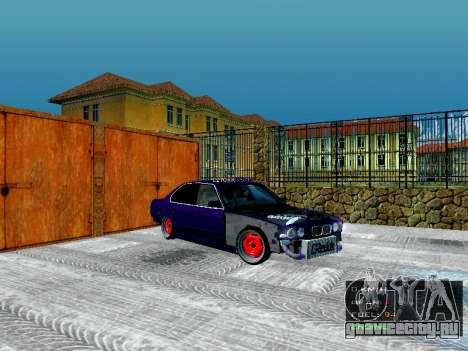 BMW 525i e34 Бродяга для GTA San Andreas