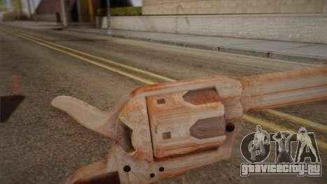 Colt Peacemaker(Хромовый) для GTA San Andreas второй скриншот