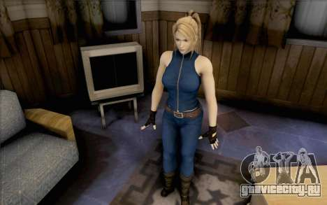 Sarah из Dead or Alive 5 для GTA San Andreas второй скриншот