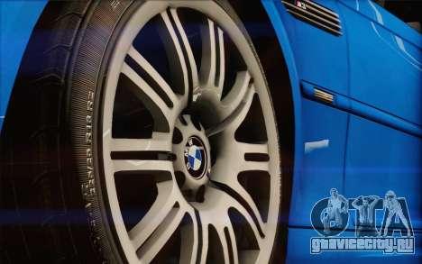 BMW M3 E46 2005 для GTA San Andreas вид сзади