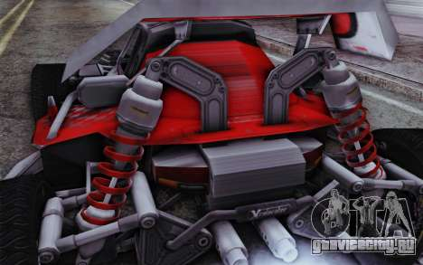 Багги XCelerator XL для GTA San Andreas вид сзади слева