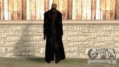 Альберт Вескер в плаще для GTA San Andreas второй скриншот