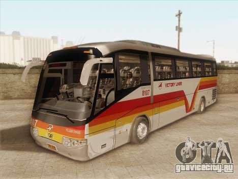 Higer KLQ6129QE - Victory Liner 8107 для GTA San Andreas