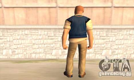 Jimmy Hopkins для GTA San Andreas второй скриншот