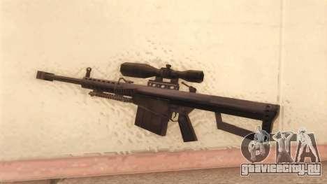 Barrett из Call of Duty MW2 для GTA San Andreas второй скриншот