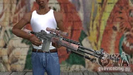 M14 EBR Red Tiger для GTA San Andreas третий скриншот