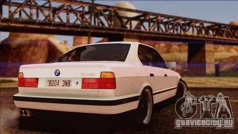BMW 535i E34 Mafia Style для GTA San Andreas салон