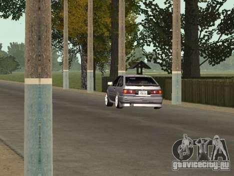Toyota Corolla GTS Drift Edition для GTA San Andreas вид сзади