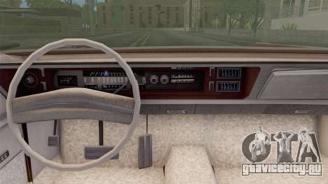 Chrysler New Yorker 4 Door Hardtop 1971 для GTA San Andreas вид сзади слева
