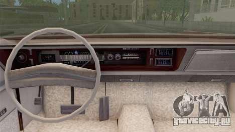 Chrysler New Yorker 4 Door Hardtop 1971 для GTA San Andreas вид сзади слева