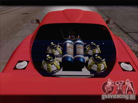 Dodge Viper Competition Coupe для GTA San Andreas двигатель