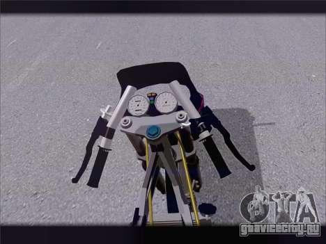 Suzuki Satria FU для GTA San Andreas вид сзади