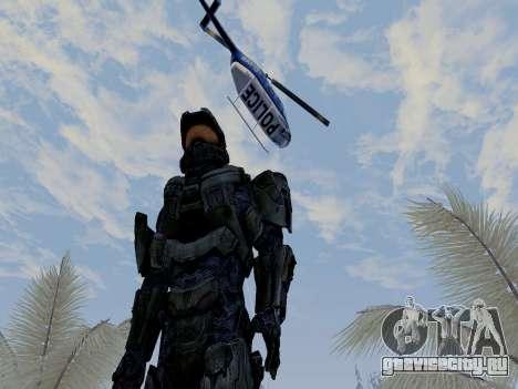 Master Chief для GTA San Andreas четвёртый скриншот