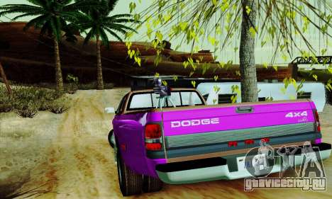 Dodge Ram 3500 для GTA San Andreas салон