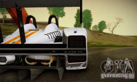 Caterham-Lola SP300.R для GTA San Andreas вид справа