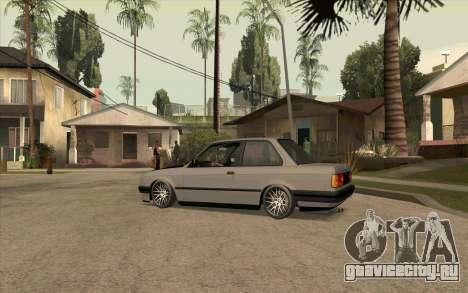 BMW E30 Stance для GTA San Andreas вид слева