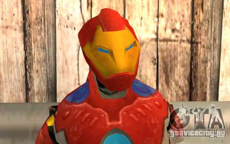 Iron Man для GTA San Andreas третий скриншот