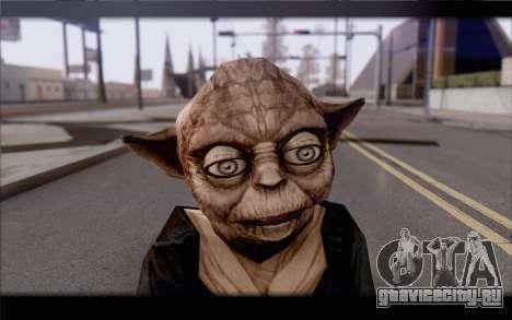 Йода для GTA San Andreas третий скриншот