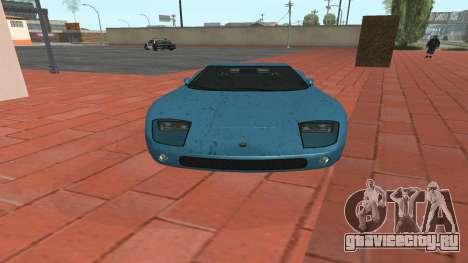 Monroe из GTA 5 для GTA San Andreas вид сзади слева