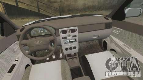 ВАЗ-2170 Priora для GTA 4 вид сверху