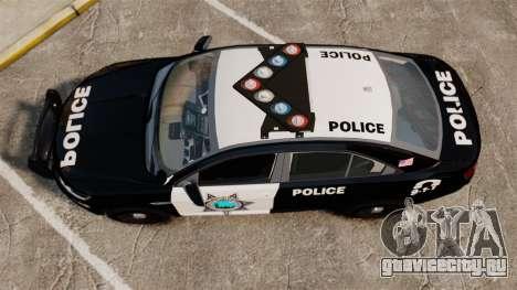 Ford Taurus Liberty State Police для GTA 4 вид справа
