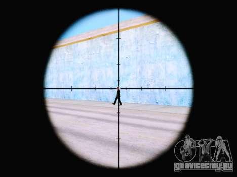 Винтовка с новым прицелом для GTA San Andreas второй скриншот