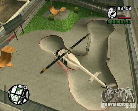 Новый HD Скейт-парк для GTA San Andreas третий скриншот