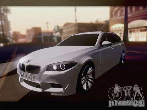 BMW M5 F11 Touring для GTA San Andreas вид справа