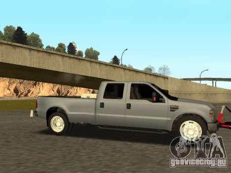 Ford F-350 для GTA San Andreas вид справа