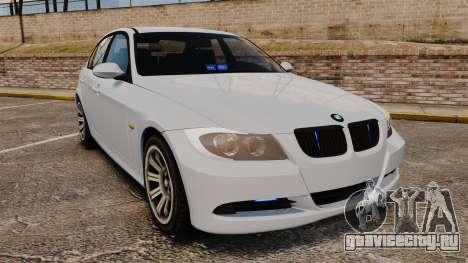 BMW 330i Unmarked Police [ELS] для GTA 4