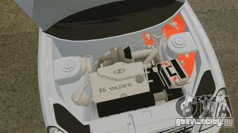 ВАЗ-2170 Priora для GTA 4 вид изнутри