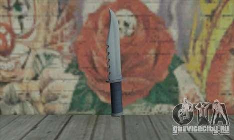 Нож из GTA V для GTA San Andreas второй скриншот