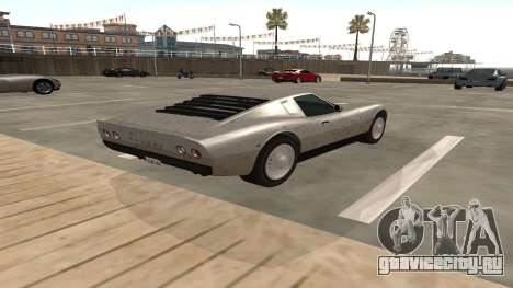 Monroe из GTA 5 для GTA San Andreas вид справа