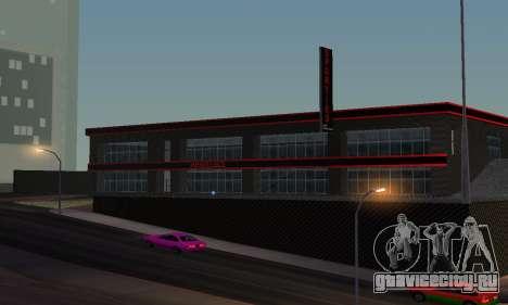 Новый автосалон в Dorothi для GTA San Andreas четвёртый скриншот