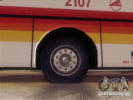 Man 14.220 (Santarosa Exfoh) - Victory Liner 210 для GTA San Andreas вид сзади слева