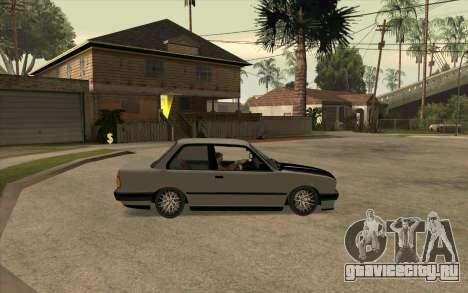 BMW E30 Stance для GTA San Andreas вид справа