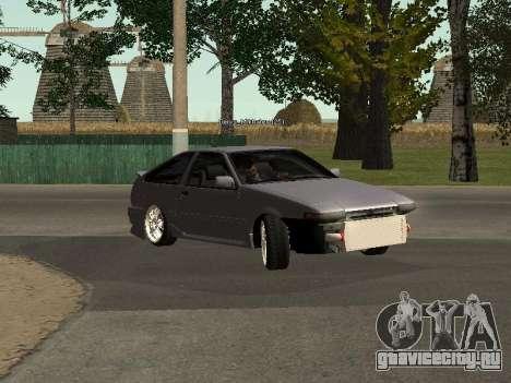 Toyota Corolla GTS Drift Edition для GTA San Andreas