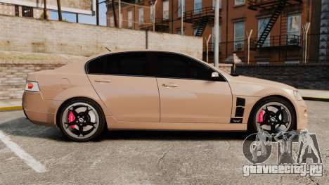 Holden HSV W427 2009 для GTA 4 вид слева