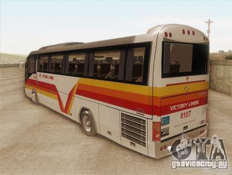 Higer KLQ6129QE - Victory Liner 8107 для GTA San Andreas вид слева