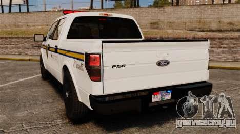 Ford F-150 2012 CEPS [ELS] для GTA 4 вид сзади слева