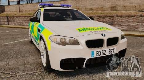 BMW M5 Ambulance [ELS] для GTA 4