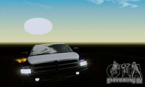 Dodge Ram 3500 для GTA San Andreas вид сбоку