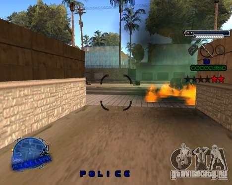 C-HUD Police LVPD для GTA San Andreas четвёртый скриншот
